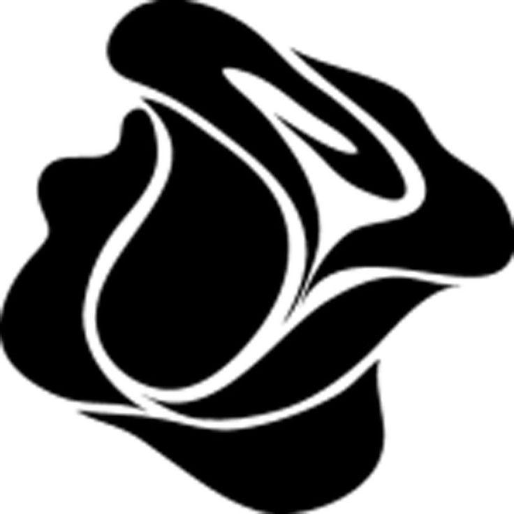 Трафареты цветов: шаблоны для вырезания