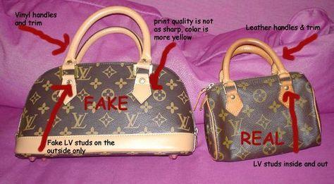 22397154f Cuidado con la imitaciones: carteras Louis Vuitton, ¿verdaderas o ...