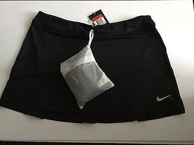 Skirts Skorts and Dresses 179003: New Womens Black Nike Golf/Tennis Skirt Shorts Set Dri Fit Tour Large $75.00 BUY IT NOW ONLY: $37.0