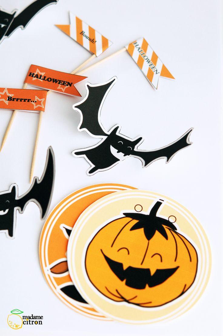 halloween printable madame-citron.fr