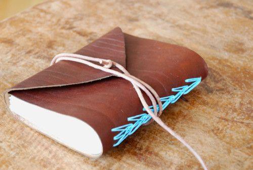 Zápisník z hnědé kůže