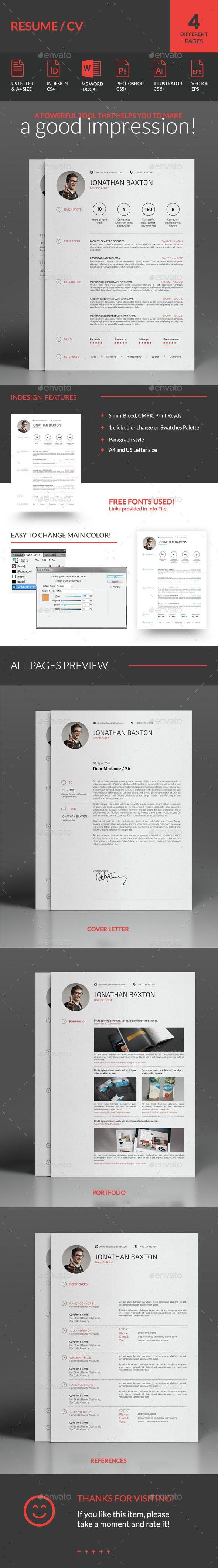 #Clean & Simple Resume.Download here: http://graphicriver.net/item/resume-cv/7398472?ref=arroganttype