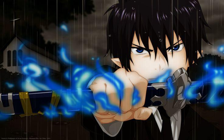 Anime Blue Exorcist  Rin Okumura Ao No Exorcist Kurikara (Blue Exorcist) Wallpaper