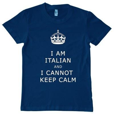 I am Italian t-shirt