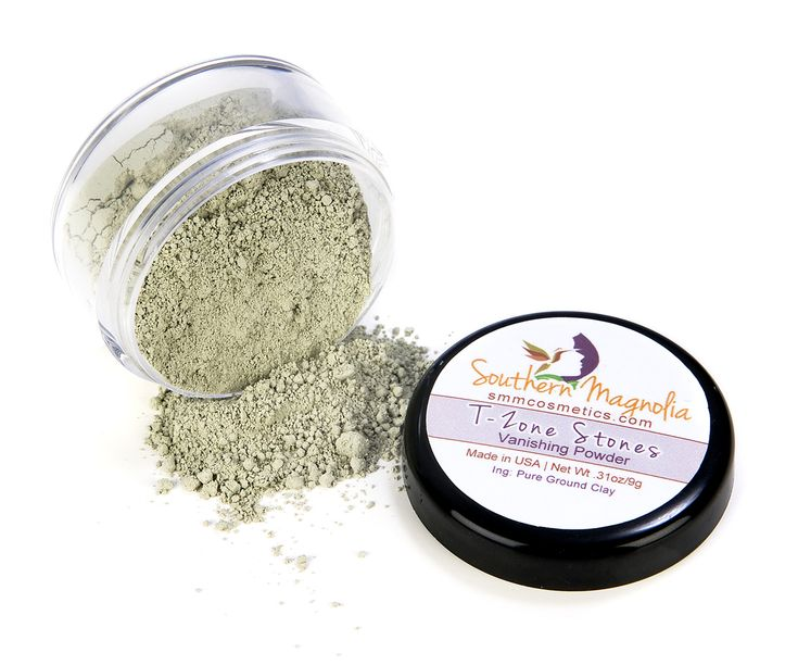 Southern Magnolia Mineral Cosmetics - Oil-Absorbing T-Zone Stones Vanishing Oil Control Powder, $13.99 (http://www.smmcosmetics.com/shop-makeup/face/oil-control-powders/oil-absorbing-t-zone-stones-vanishing-oil-control-powder)