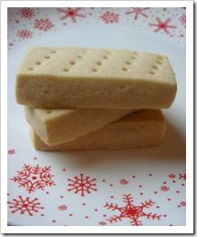 Scottish shortbread - very easy! much easier than my browned butter shortbread recipe. would be a perfect every day cookie for tea