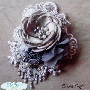 Alona Brokat grey