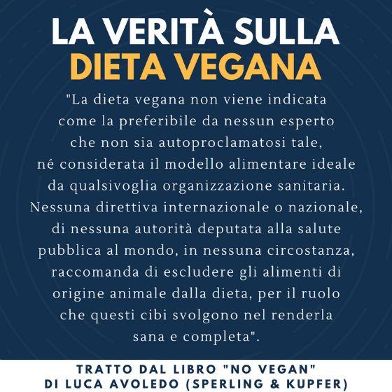 La verità sulla dieta vegana? Non esistono reali ragioni mediche o nutrizionali per diventare vegani.