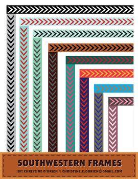 Southwestern Frames / Borders - Christine OBrien