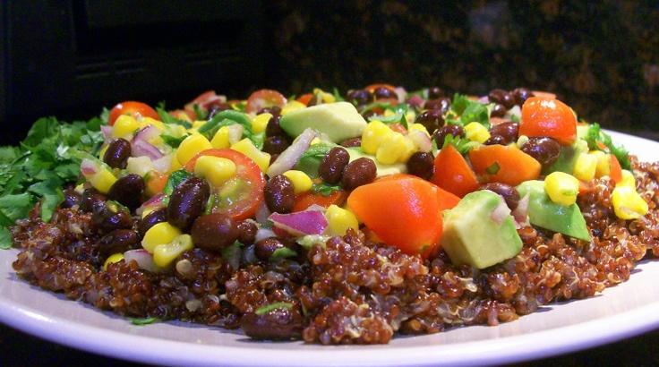southwest quinoa salad | I'll Just Have a Salad... | Pinterest