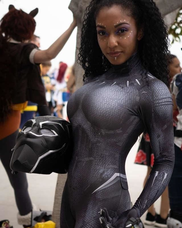 Black Panther At San Diego Comic Con 2018 Comiccon Costume