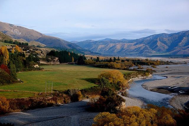 Waiau River, Hanmer Springs, Canterbury, New Zealand