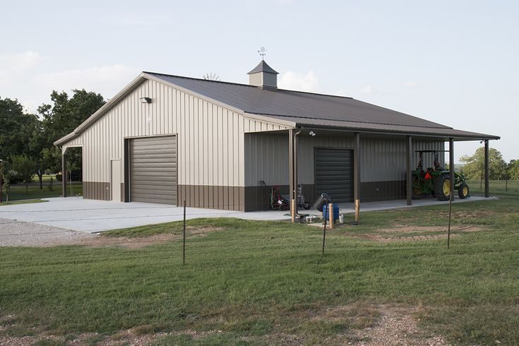 Image Result For Buckskin Pole Barn Colors Metal Shop Building