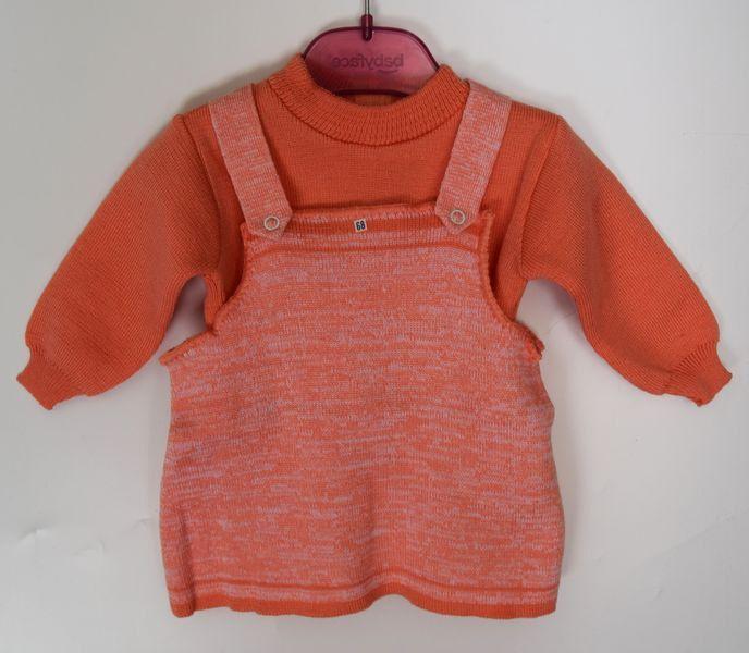 baby vintage meisjeskleding 3-6 maanden maat 62, 68 setje voor meisjes pasgeboren geschenk merkkleding jaren 60 gebreide babykleding setje door Smufje op Etsy
