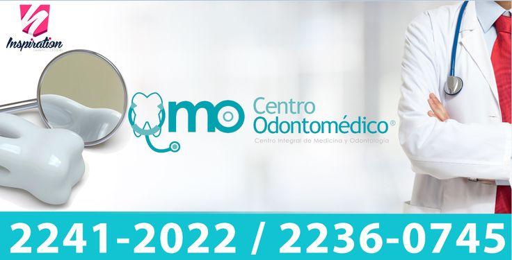 Diseño para rotulo de clínica dental.