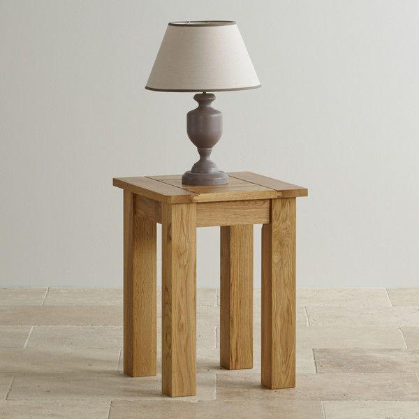 Handmade 100 Solid Natural Oak Side Tables Side Table Contemporary Range Oak Furnitureland Oak Furniture Land Table Contemporary Side Tables