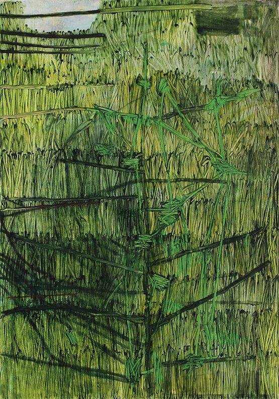 Fik van Gestel (Belgian, b. 1951), Jenkins' grass