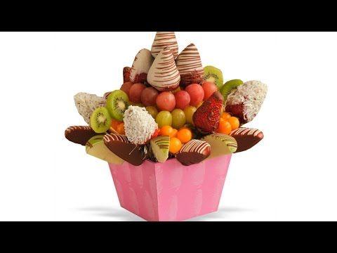 ¿Cómo hacer arreglos frutales? / How to make fruit arrangements? - YouTube