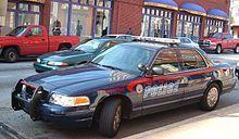 Atlanta Police Department vehicle