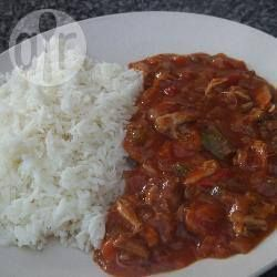 Chicken Jalfrezi slow cooker