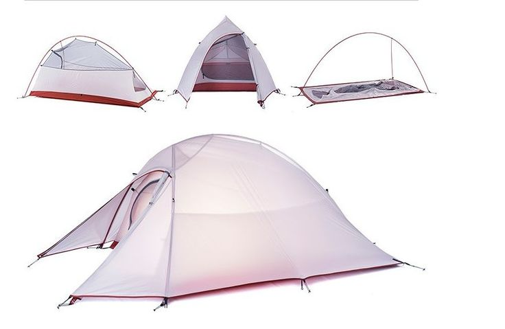 2.6 lb Ultralight 1-2 Person 4 Season Backpacking Tent http://campingtentlover.com/best-pop-up-tents/