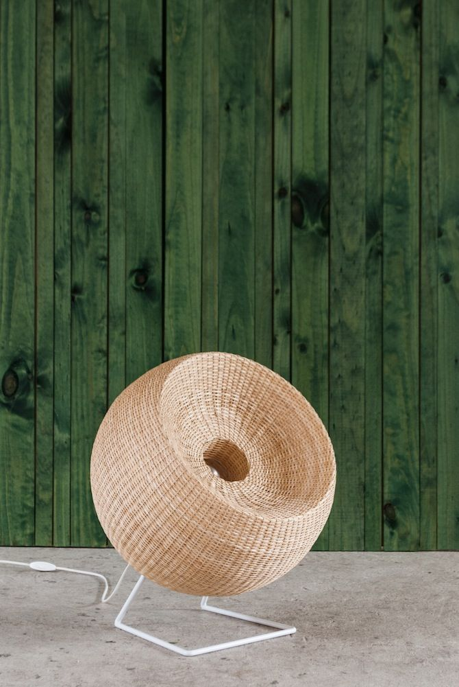 Made in Mimbre - Thisispaper Magazine >>> Fan or lamp?