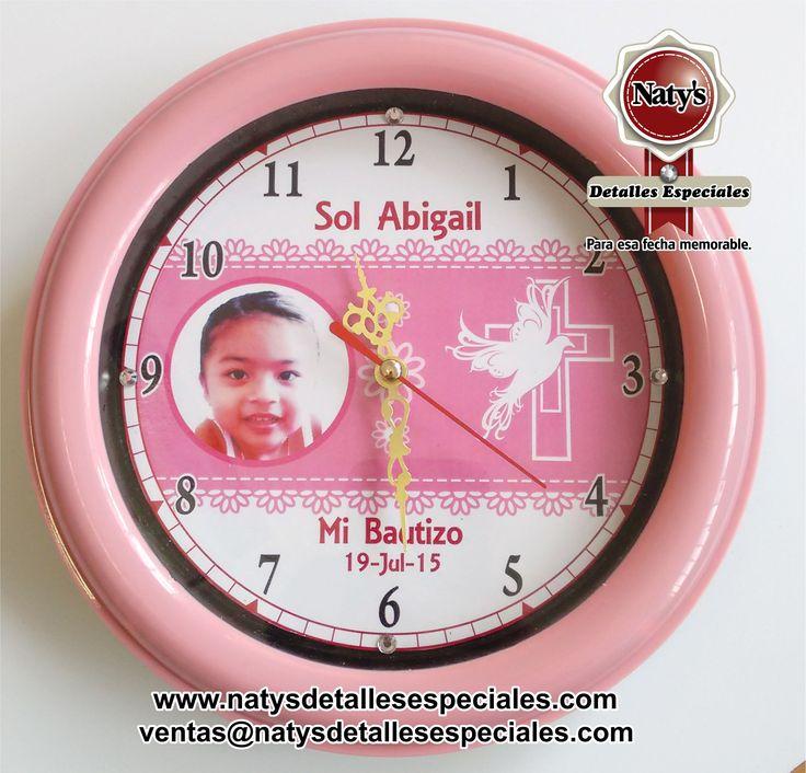 Reloj personalizado natys detalles especiales para esa - Relojes de pared personalizados ...