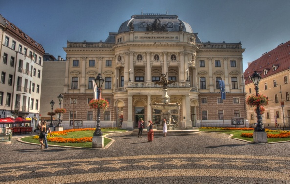 Hviezdoslav Square, Bratislava
