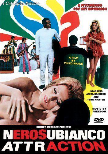 Sixties | Nerosubianco (Black On White), aka Attraction, starring Anita Sanders, Terry Carter and Nino Segurini, 1969