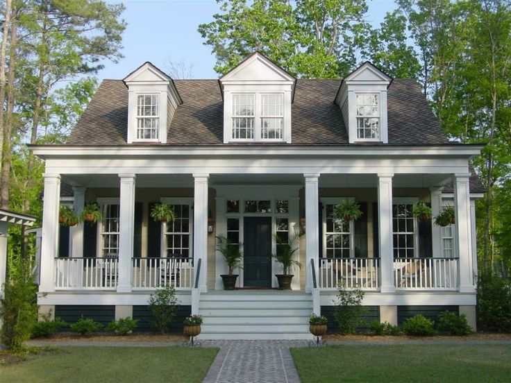 Pin by mary pat dilks on veranda park pinterest for House plans with porch across front