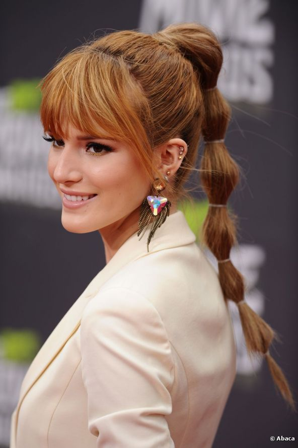 Bella Thorne 2013 | Bella Thorne si conferma originale e sceglie una coda di cavallo a ...