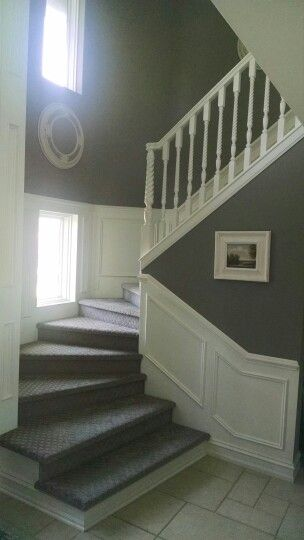 Foyer Sherwin Williams Color Dovetail 7018 Decor I