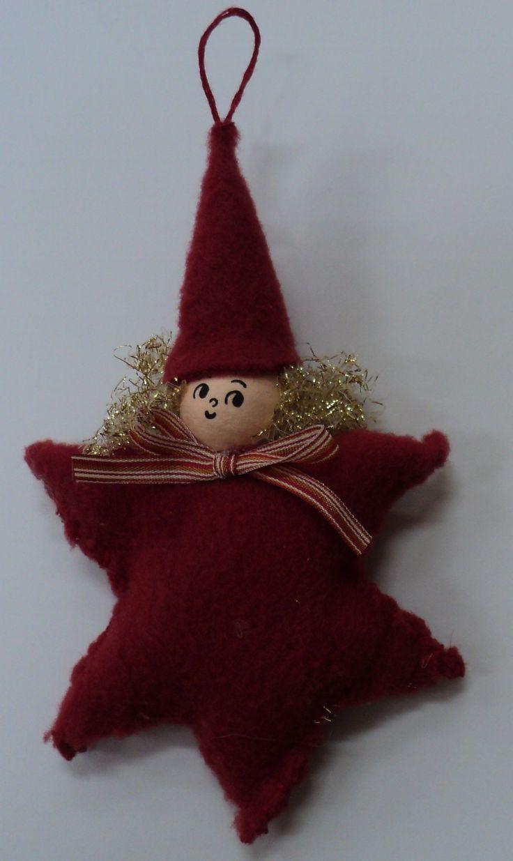 Vánoční skřítek - hvězda