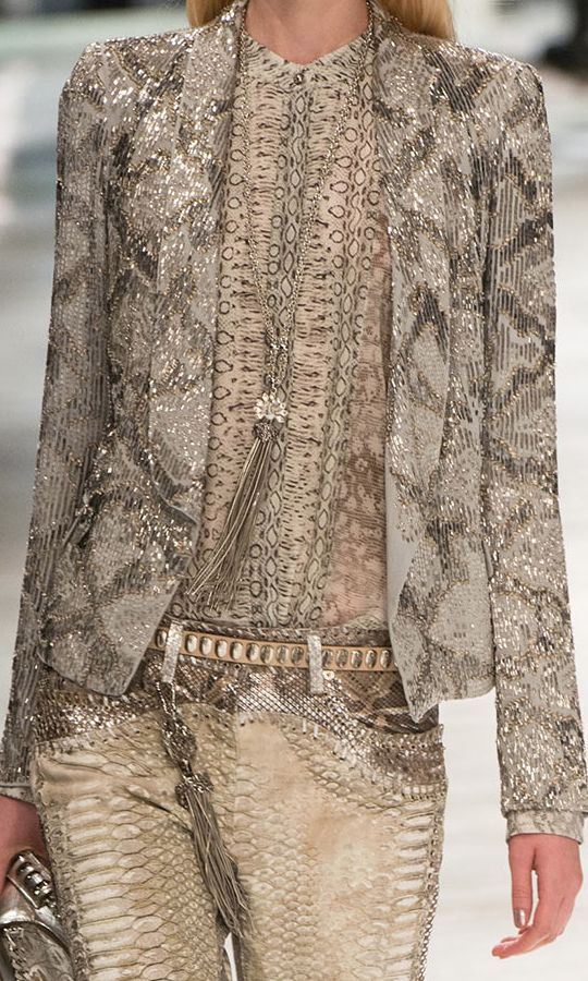 Roberto Cavalli Spring 2014 Ready-to-Wear Fashion Show: Runway Review