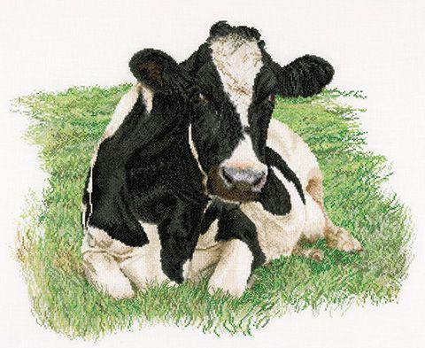 Cow cross stitch