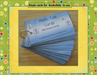 Number Talk Cards - building number sense