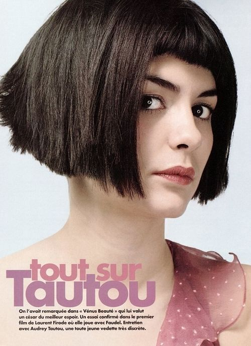 amelie haircut - Google Search