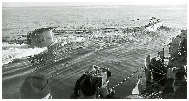 U-58 surfaces for the cameras.