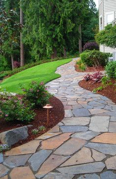 100 ideas to try about WalkwaysGardens Stone walkways and