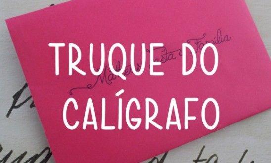 Truque do Calígrafo   Fontes Grátis para Convite de Casamento