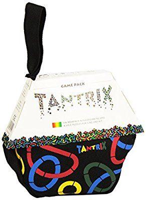 Tantrix 53001 - Game Pack, Tasche Taktisches Lege-Puzzle-Spiel für 1-4 Spieler in stabiler Tasche mit Reißverschluss