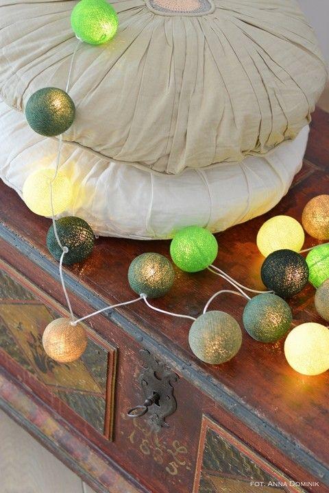 Zestaw DEEP FOREST Słoneczne refleksy między rozświetlonymi liśćmi, muśnięta ciepłem ściółka - mech i paprocie ogrzewające się w słońcu...  http://www.cottonballlights.pl/onze-favorieten.html