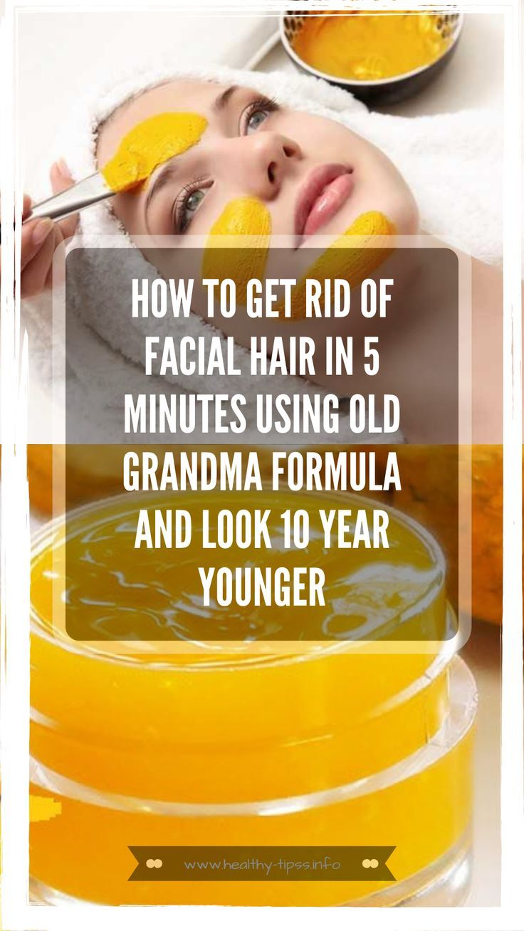 How to get rid of facial hair in 5 minutes using old