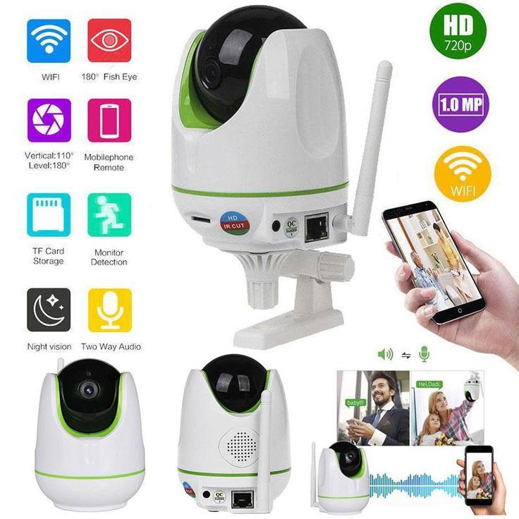 baby monitor Wireless CCTV WiFi HD 720P Onvif Home Security Network Megapixel Surveillance IP Camera Night Vision