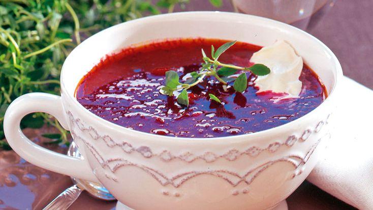 Tomat- och rödbetssoppa – recept | Allers