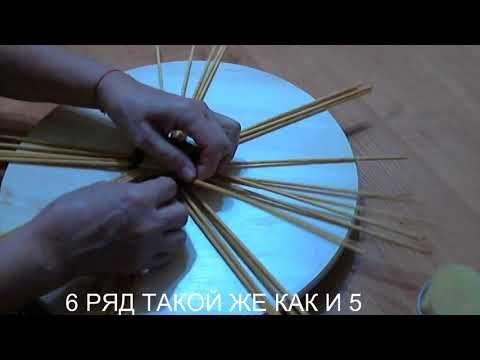 (22) МК ВАЗЫ ПОД ФРУКТЫ - YouTube