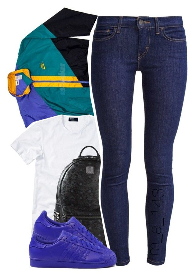 5 | 26 | 15 by mindlesslyamazing-143 on Polyvore featuring polyvore, fashion, style, Polo Ralph Lauren, NIKE, Levi's, MCM and adidas