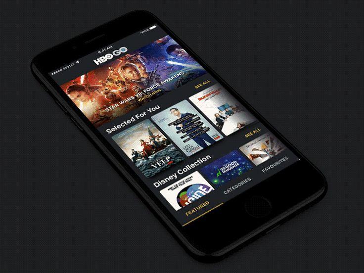 HBO GO  App Interaction (Show Details) by Pawel Szymankiewicz