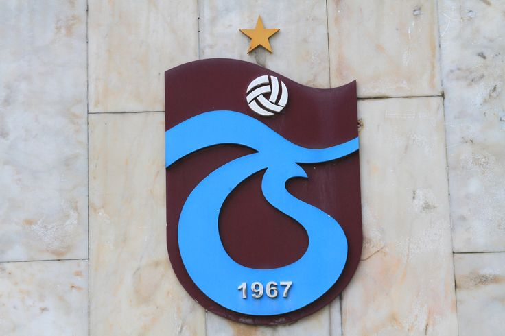 Trabzonspor logo on the Hüseyin Avni Aker Stadium
