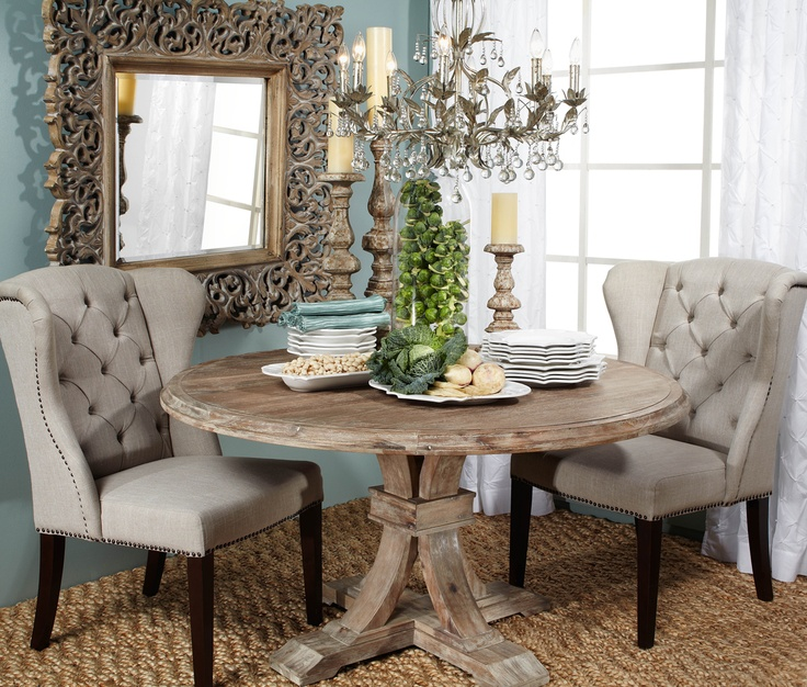 Archer Round Dining Table From Z Gallerie Love For My Breakfast Nook